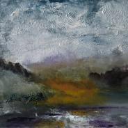 "Linda Graham, ""Trees on the Estuary"""