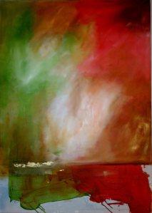 "Mary Tritschler ""Air,light, sun and sea"" - Oil on linen - 140x100cm"
