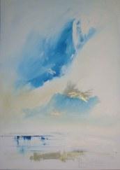 "Mary Tritschler ""Calm day""- Oil on linen - 140x100cm"