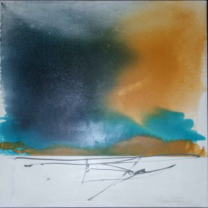 "Mary Tritschler ""Kings Channel"" - Oil on linen - 120x120cm"