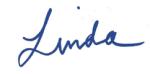 Linda signature