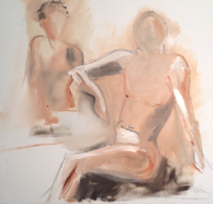 """Mary Tritschler """"Life Study 1"""""""