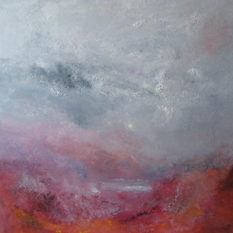 "Linda Graham ""Our Star"", Oil on canvas 100cm x 100cm"