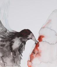 "Ronan O'Reilly, ""Promethean"", 34.5 x 28 cm, Watercolour"