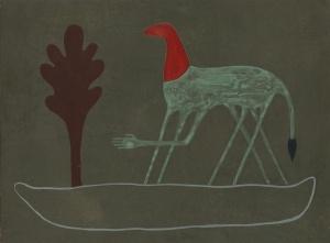 "Ronan O'Reilly, ""The Way"", 22 x 30 cm, Acrylic on wood"