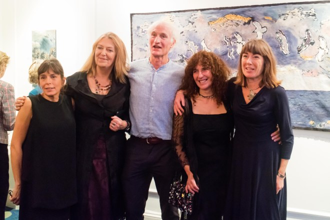 Nicola Henley, Vivienne Bogan, Duncan Stewart, Kathryna Cuschieri and Jane Seymour