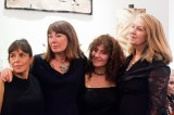 Artists Nicola Henley, Kathryna Cuschieri, Vivienne Bogan and Jane Seymour