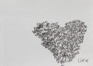 Life, Pencil on hahnmuhle, 14cm by 21cm