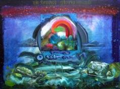 Patrick Walshe, 'Sic Transit Gloria Mundi', 100 x 75cm; oil on canvas and board