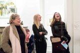 L-R: artists Mary Tritschler, Suzy O'Mullan, Carole Shubotham