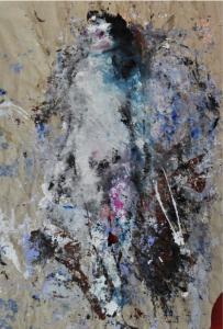 Katarzyna Gajewska, 'Spirit & Matter/River of Life' Acrylic on paper 130 x 100 cm