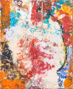 Katarzyna Gajewska, 'That is Called Symbiosis' Acrylic on canvas 30 x 25 cm