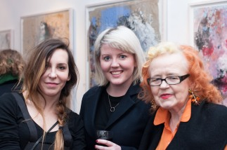 Katarzyna Gajewska, polish art, art exhibition, art opening, Origin gallery Dublin
