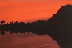Maurice Meade, Dolmen serigraph, Carrowmore, County Sligo, Dublin Art, Art Gallery Dublin, Origin Gallery, paintings, art, artist painting, art for sale, paintings for sale, original art for sale, art buyer, buy art, online art gallery, gallery art, art galleries websites, fine art gallery,