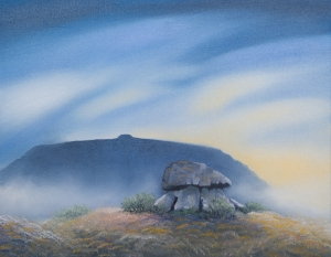 Maurice Meade, Dolmen serigraph, Carrowmore, County Sligo, Dublin Art, Art Gallery Dublin, Origin Gallery, paintings, art, artist painting, art for sale, paintings for sale, original art for sale, art buyer, buy art, online art gallery, gallery art, art galleries websites, fine art gallery,