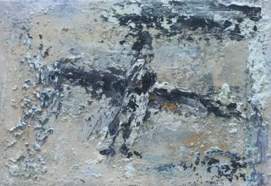 JOHN KINGERLEE_'Do I Dare', Oil on board, 43 x 30cm