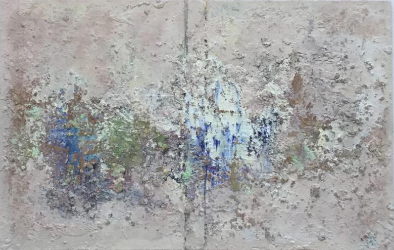 JOHN KINGERLEE_'The 3 of Them', Oil on board, 33 x 25cm