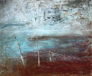 Carole Shubotham, 'Bolus Head', 4ft x 31/2 ft, Oil on canvas
