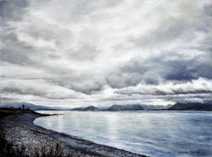 Sarah Corner, 'Pale Morning Light', Oil on linen, 1280 x 951cm