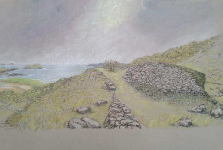 Susan Morley, 'Derrynane', Pastel, 75 x 56cm