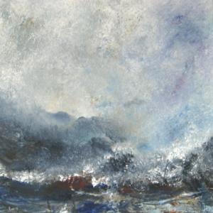 Linda Graham, 'Marking Time', Oil on board, 50 x 50cm